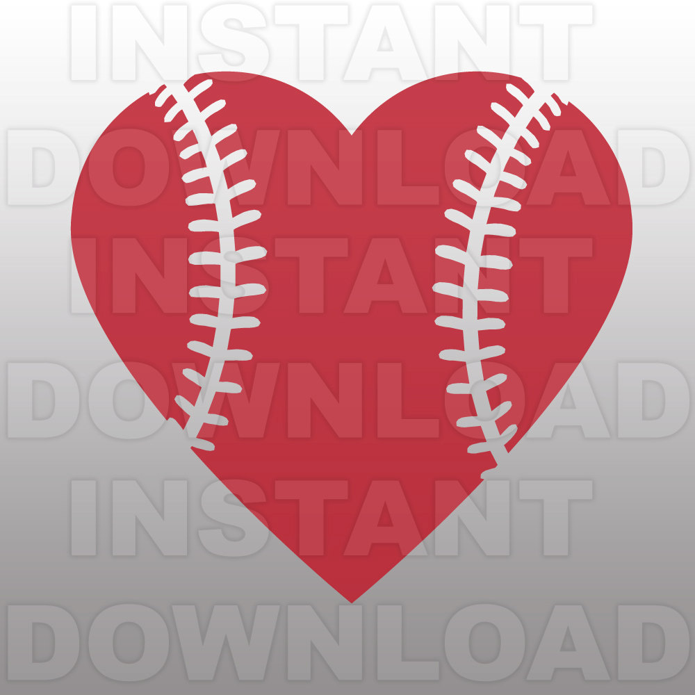 Download softball heart clipart 20 free Cliparts | Download images ...