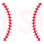 softball stitches clipart silhouette