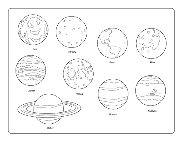 solar system clipart kindergarten 20 free Cliparts