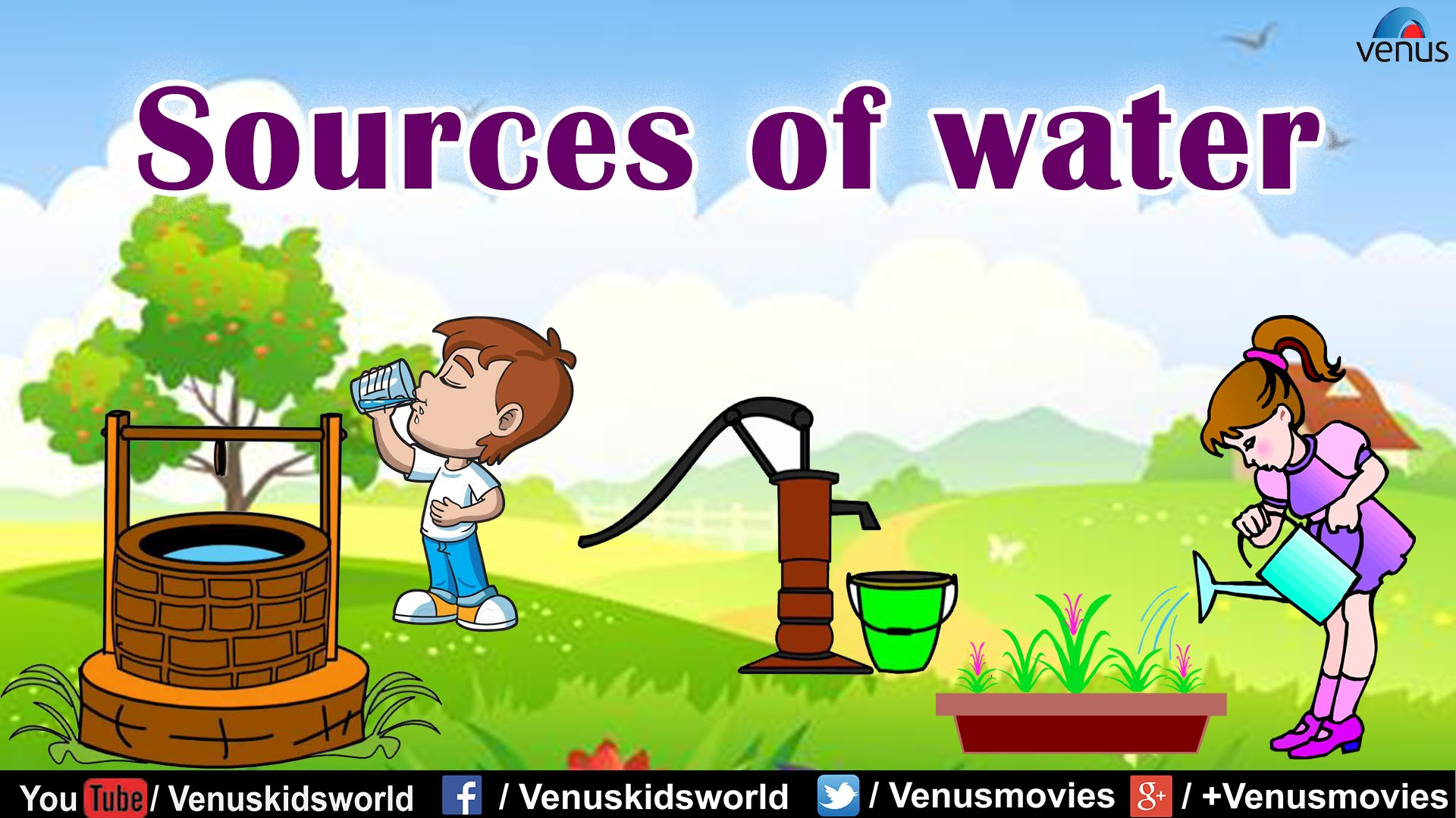 Sources Of Water Clipart