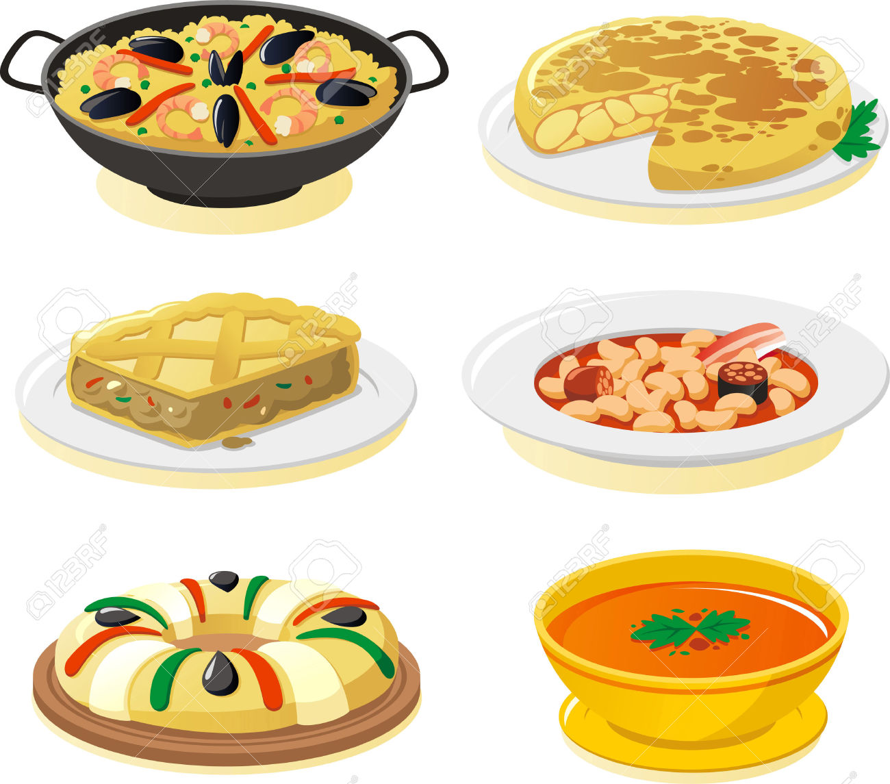 Spanish Food Clipart 20 Free Cliparts