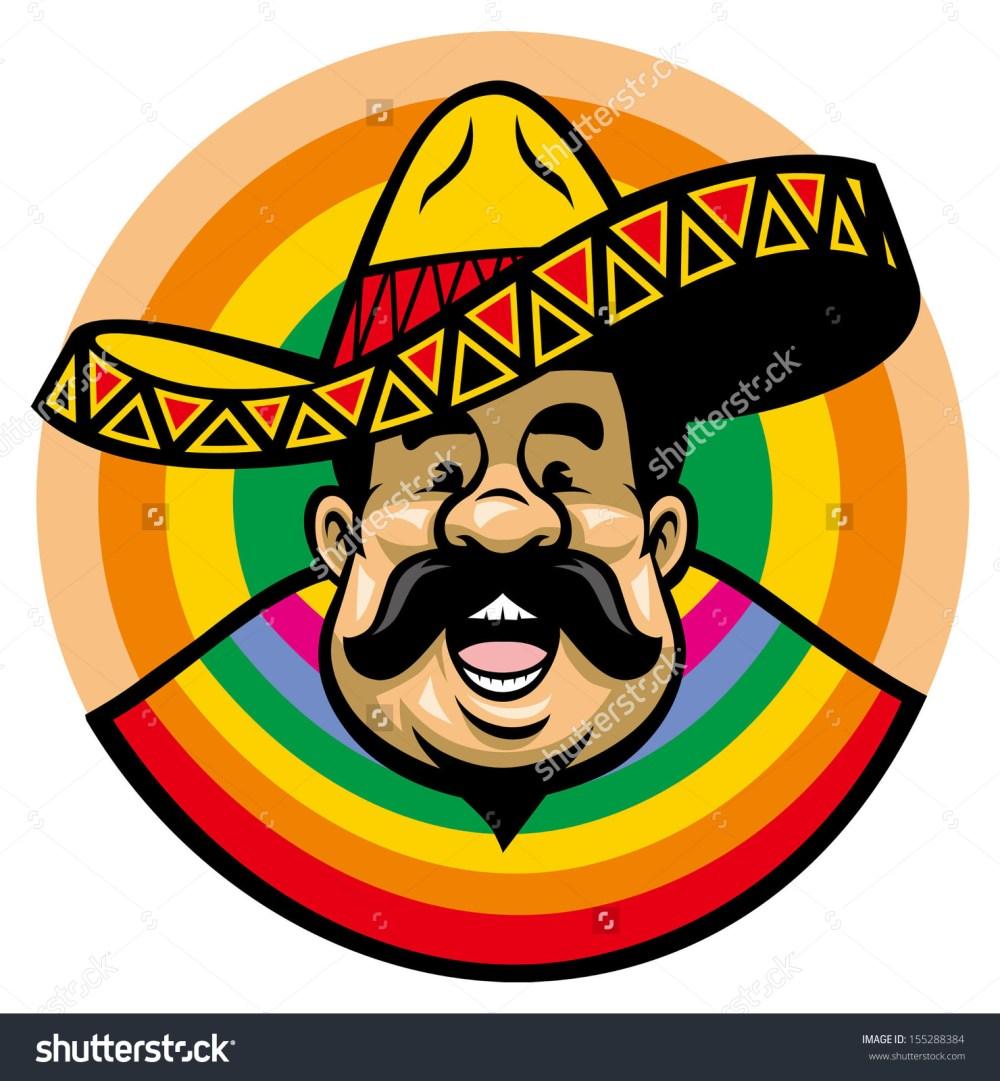 medium resolution of showing post media for triditional spanish sombrero cartoon