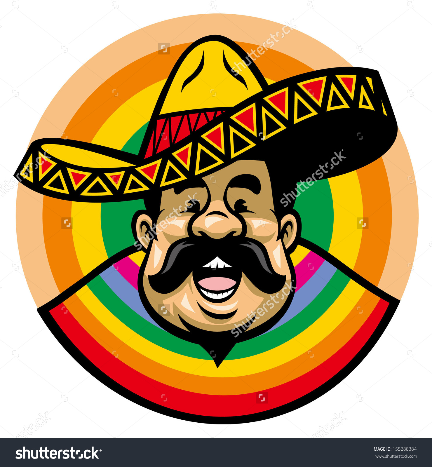 hight resolution of showing post media for triditional spanish sombrero cartoon