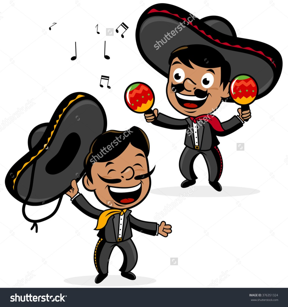 medium resolution of spanish man with sombrero clipart 16
