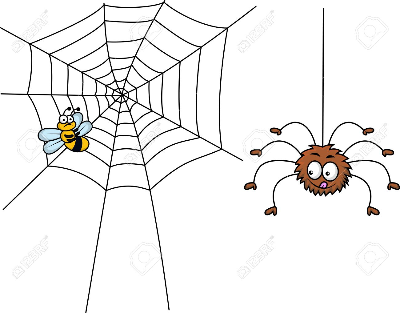 Like A Spinning Web Clipart