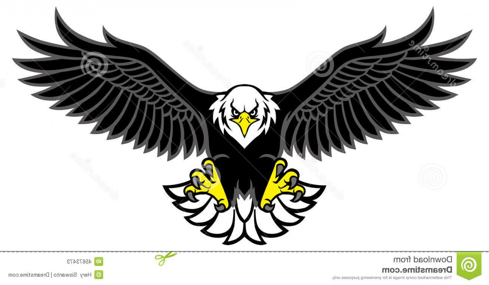 Spread Wings Clip Art