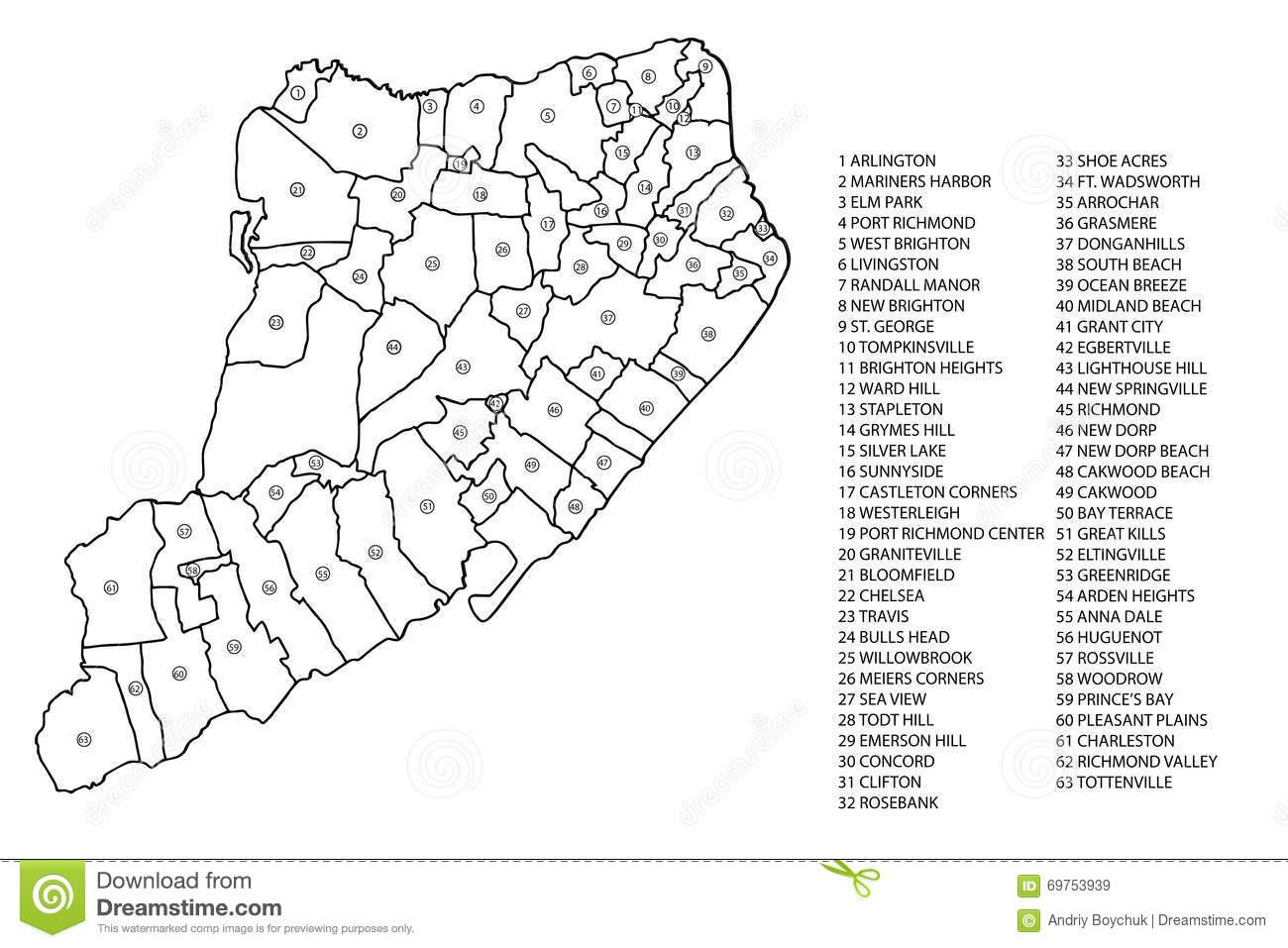 Staten Island Clipart