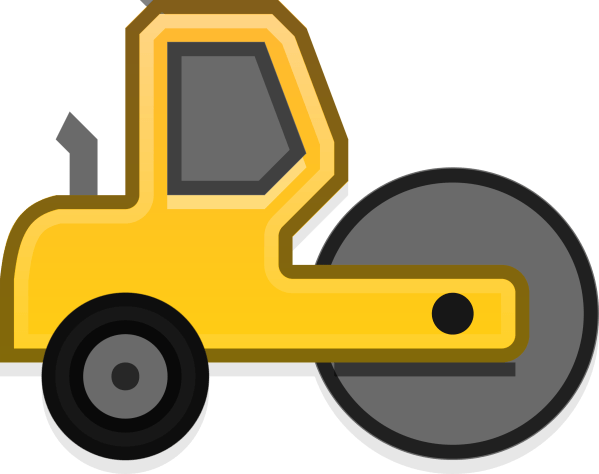 Steam Roller Clipart - Clipground