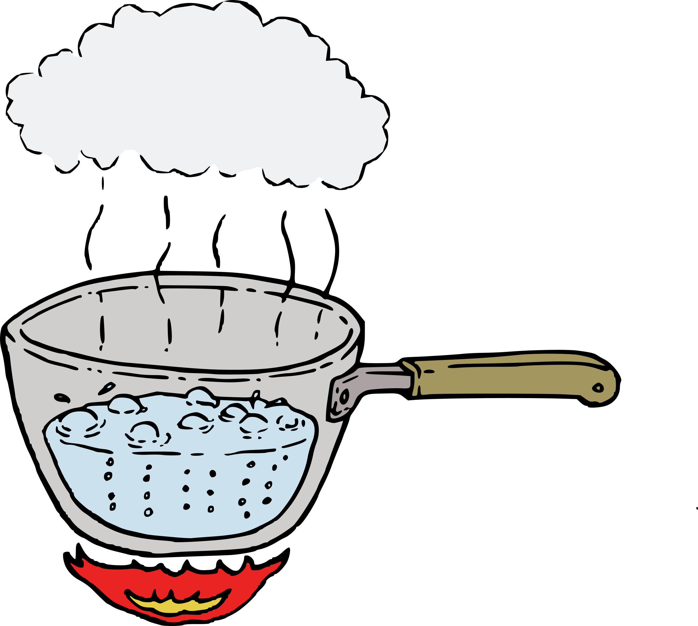 Hot Water Steam Clipart