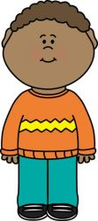 clipart kid clip still toddlers child cliparts boy sweater exercising wearing classroom waving clipground wear standing helper clipartmag children teacher