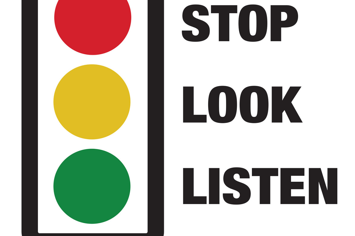 Stop Look And Listen Clipart 10 Free Cliparts