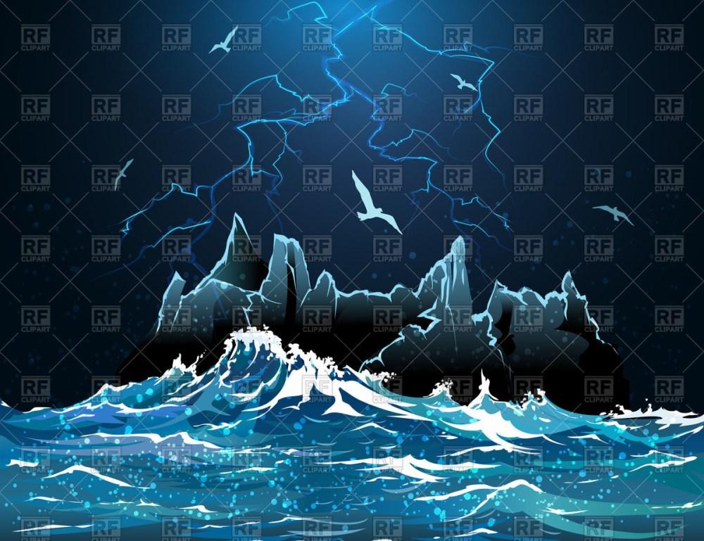 medium resolution of lightning in night sky stormy ocean 54441 travel download royalty