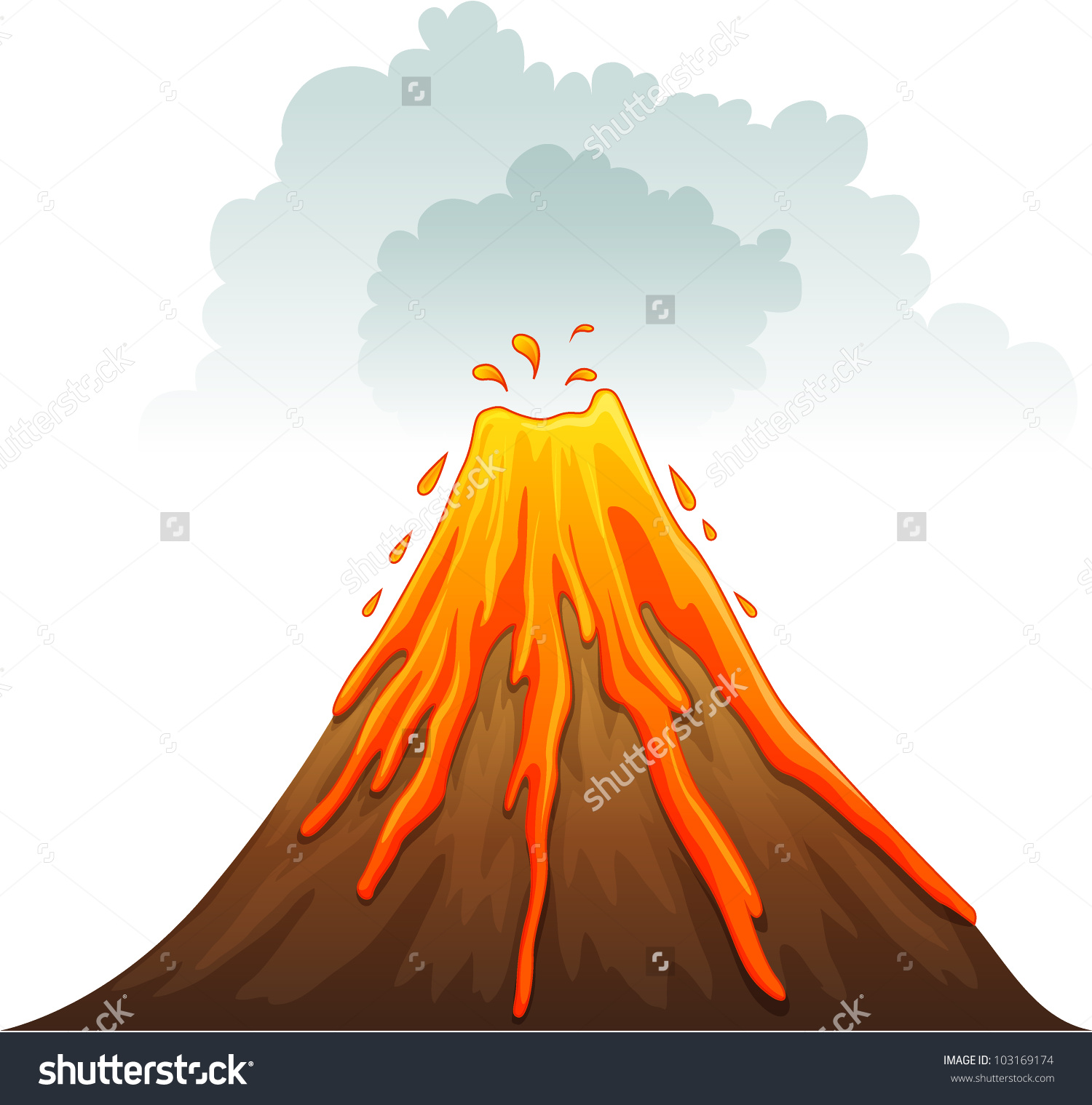 composite volcano diagram for basketball coaches court stratovolcano clipart clipground