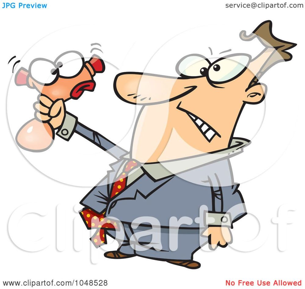 medium resolution of royalty free rf clip art illustration of a cartoon businessman squeezing a stress toy by ron leishman