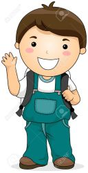 clipart boy student students clip cliparts clipground