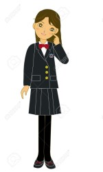 student clipart female japanese clipground