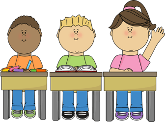 clipart desk kid student work clipground
