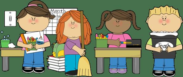 clipart substitute helper student homework