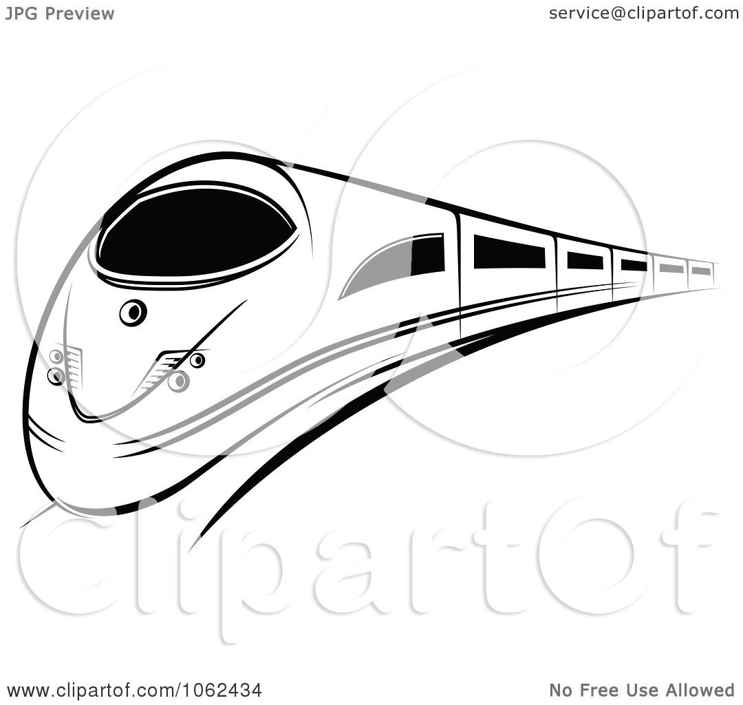 Subway Clipart Black And White