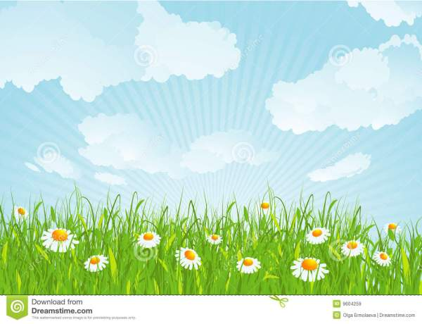 summer meadow clipart - clipground