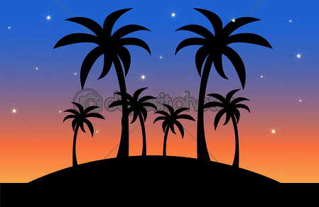 night scenery clipart - clipground
