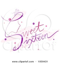 sweet 16 clipart free - Clipground