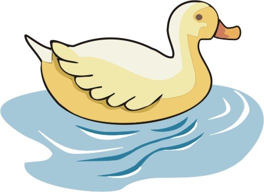 swimming duck clipart - clipground