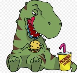 eating clipart bird rex cartoon clipground