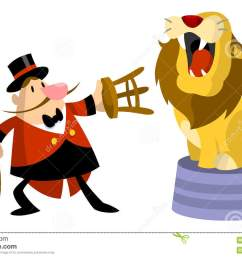 lion tamer clipart  [ 1300 x 903 Pixel ]