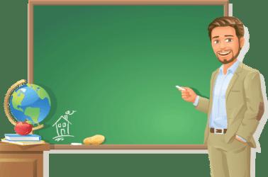 teacher transparent background clipart blackboard chalkboard clip cliparts clipground