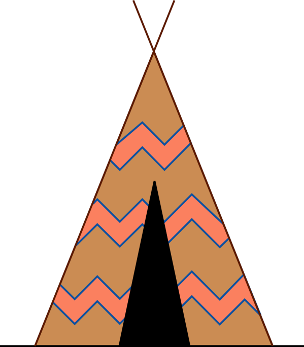 Tee Pee Clipart - Clipground