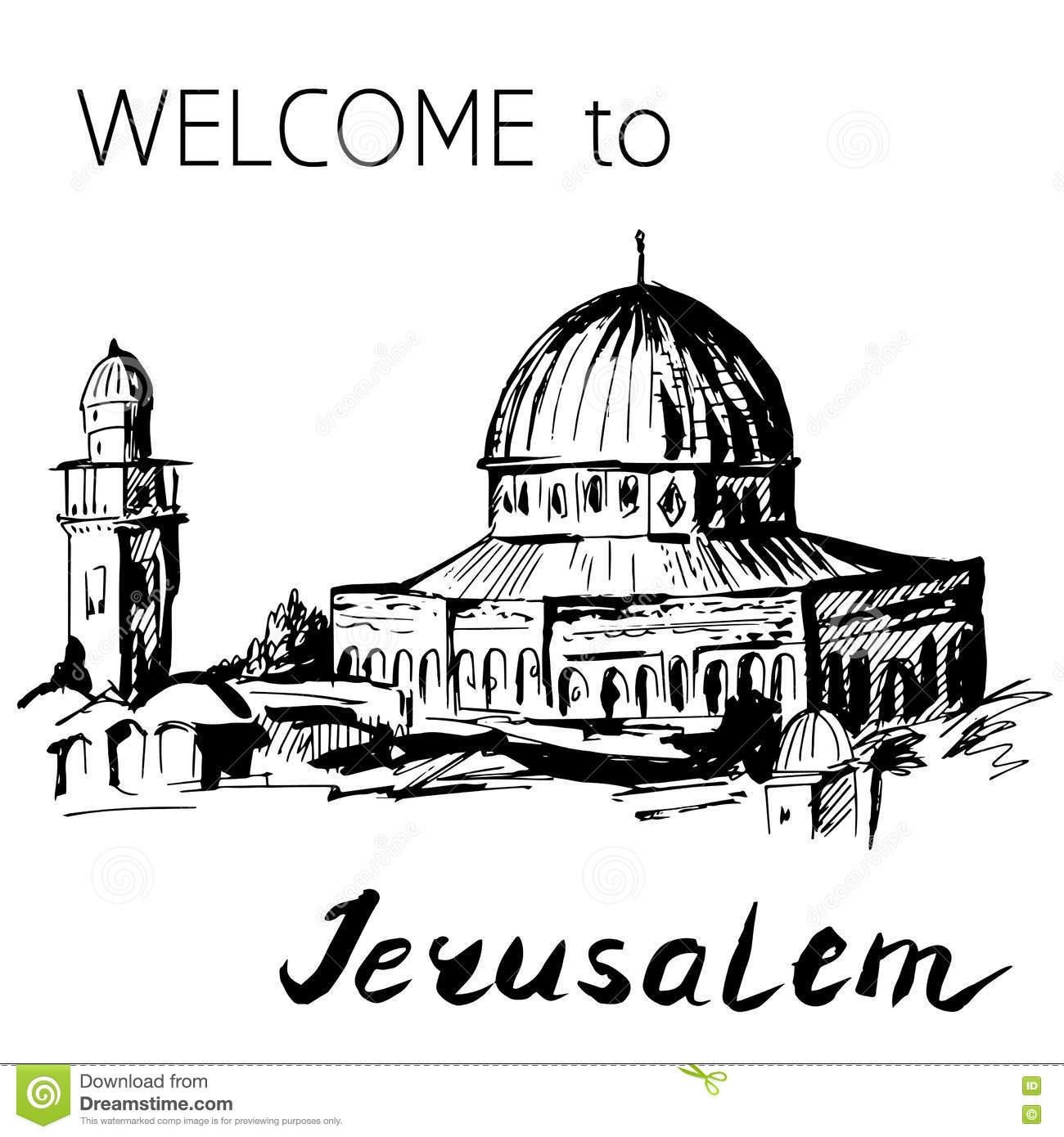 Temple Mount Clipart