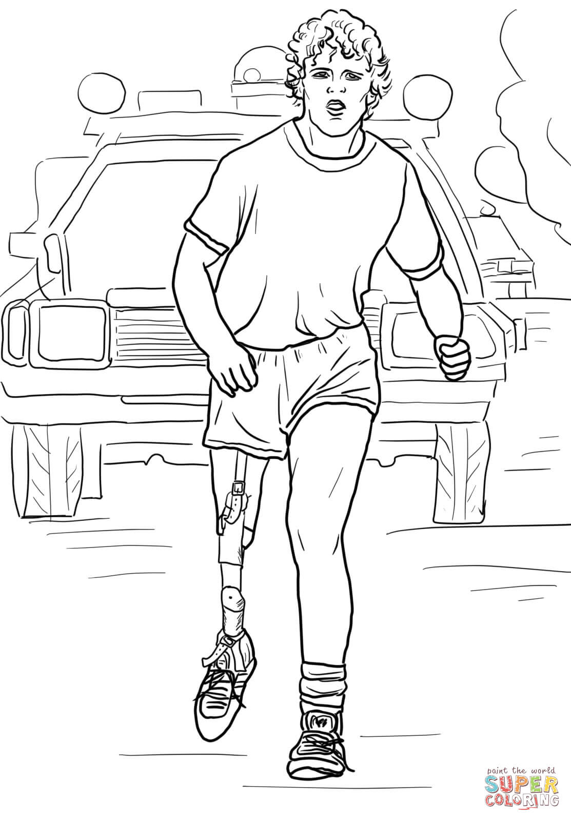 Terry Fox Clipart Free