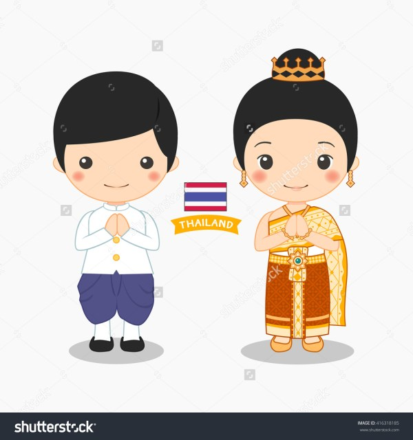 Thai Child Clipart - Clipground