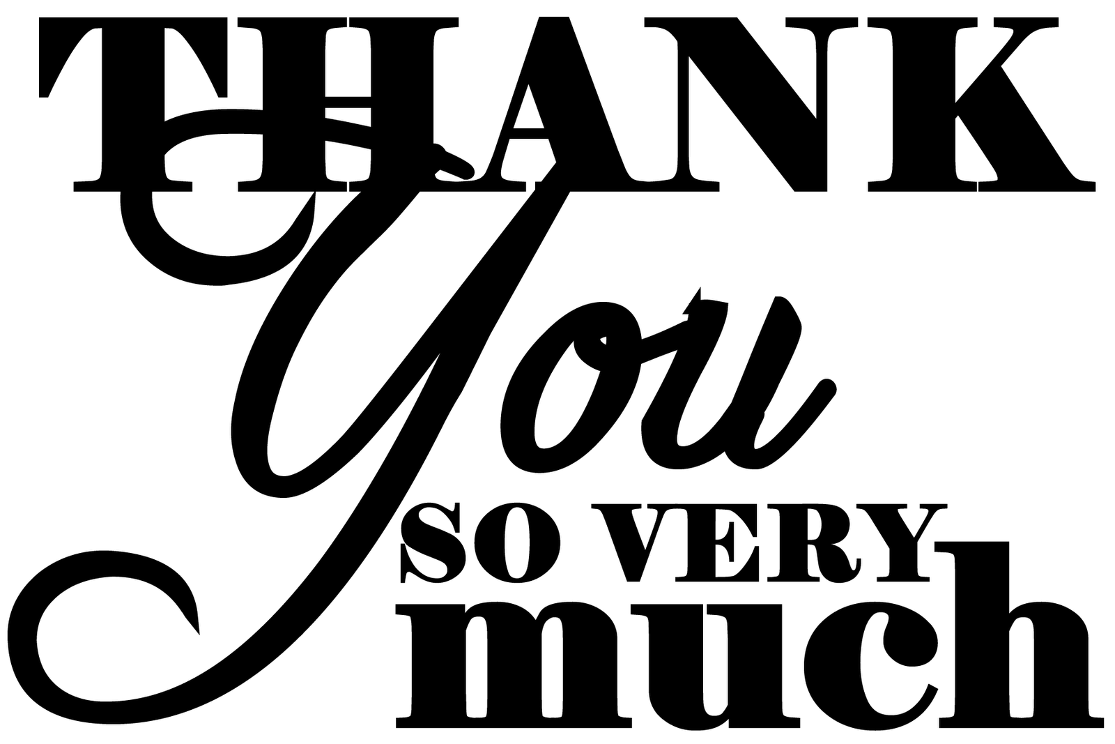 Thank You Very Much Clipart 20 Free Cliparts