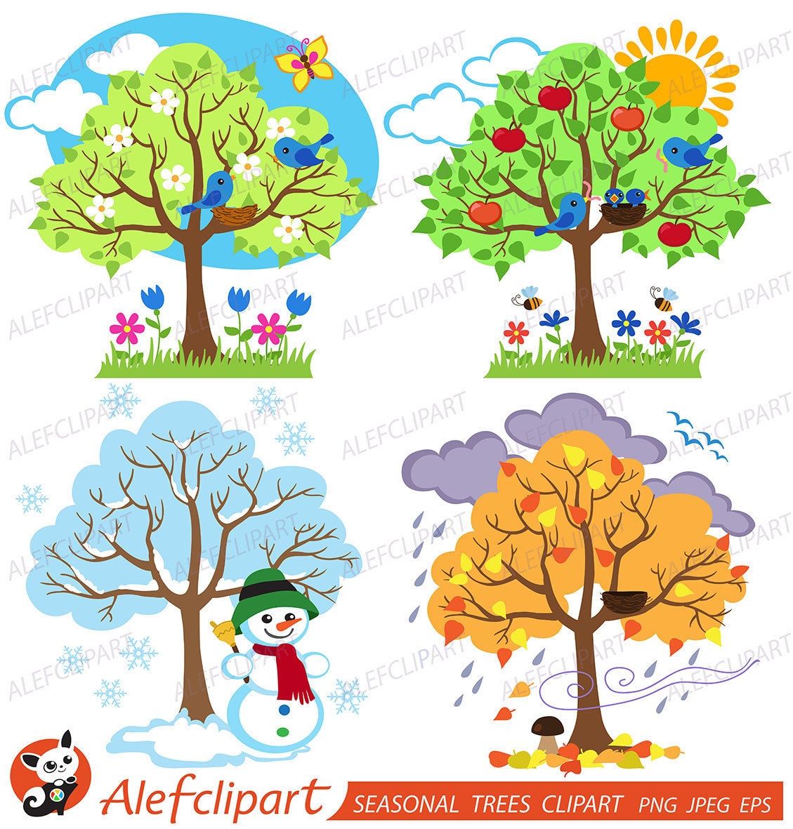 Seasonal Clipart