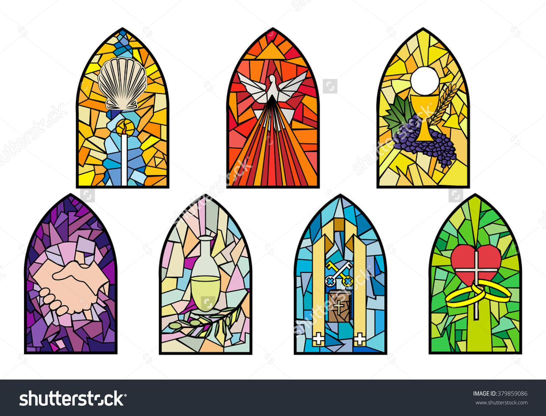 The Seven Sacraments Clipart