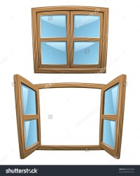 window clipart cartoon open windows closed wooden close vector shutterstock pic clipground cleaning