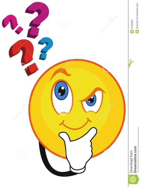 Question Smiley Face Clip Art
