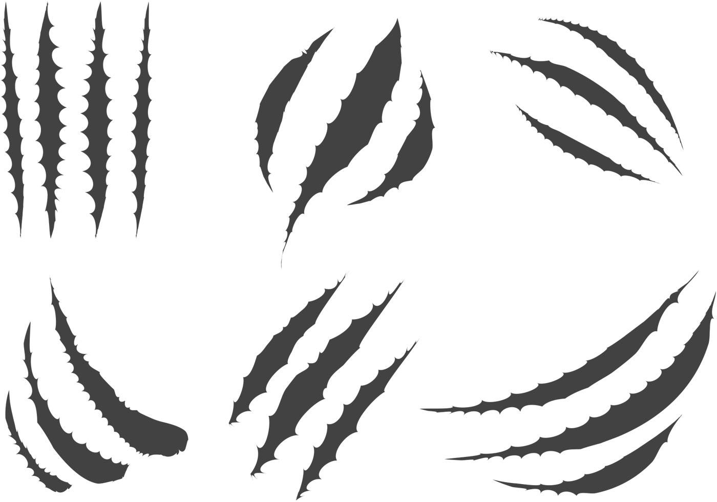 Tiger Scratch Clipart