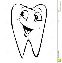 tooth clipart teeth smiling clip cute cartoon royalty clipground dreamstime comic illustration cliparts