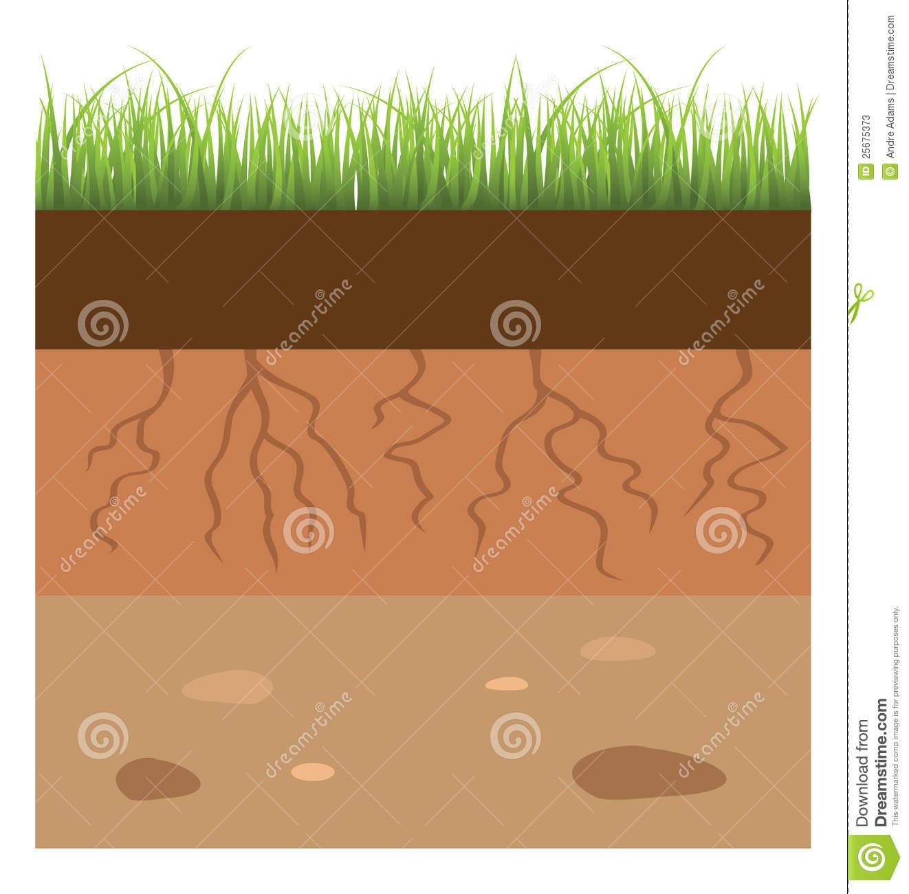 Soil Layer Clipart