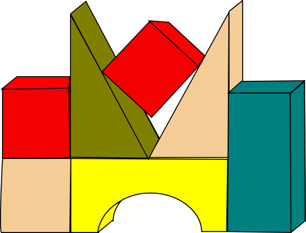 Building Blocks Clipart - Clipground