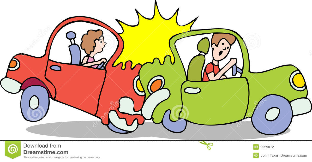 Traffic Accident Clipart