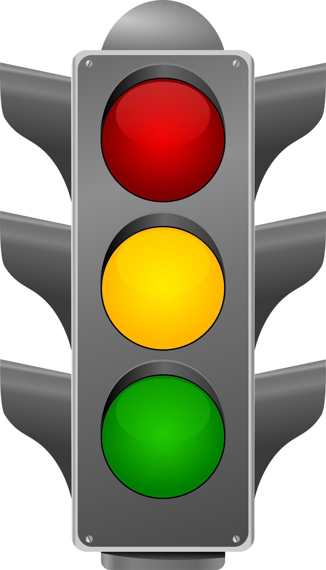 Red Traffic Lights Clipart