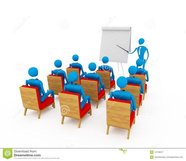 Student Group Presentation Clip Art