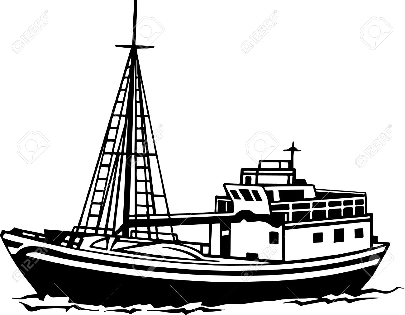 Trawler Clipart 20 Free Cliparts