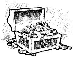 treasure chest clipart black and white free 20 free