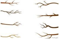 tree branches clipart silhouette - Clipground