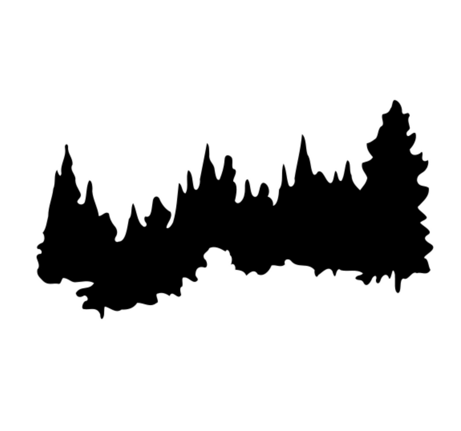Tree line clipart  Clipground